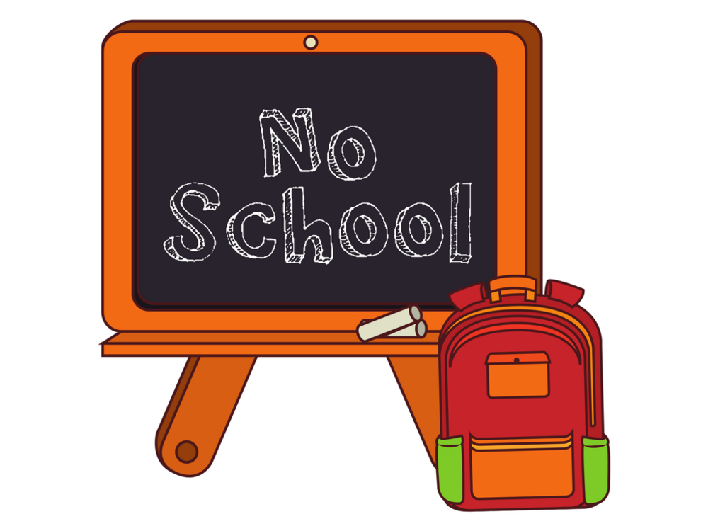 Image result for no school clipart