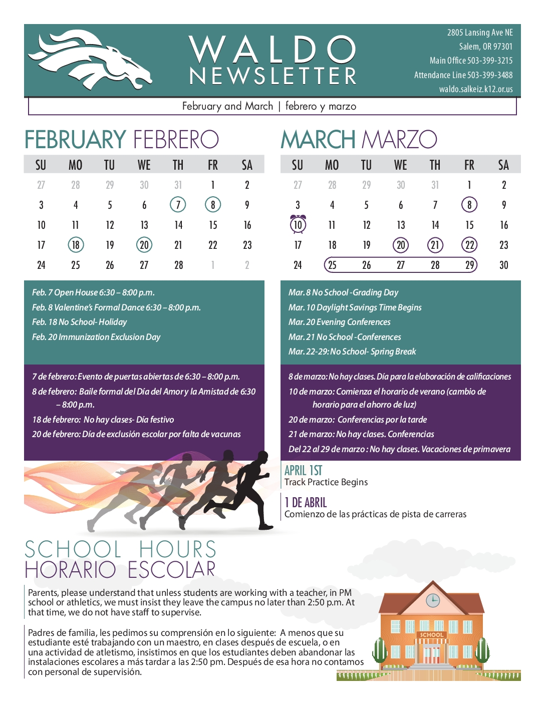 February-March Newsletter