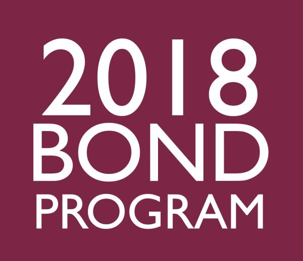 2018 bond program